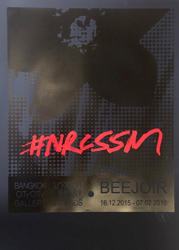 beejoir nrcssm print black black red