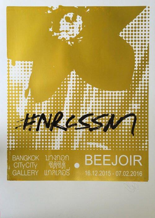 beejoir black gold white
